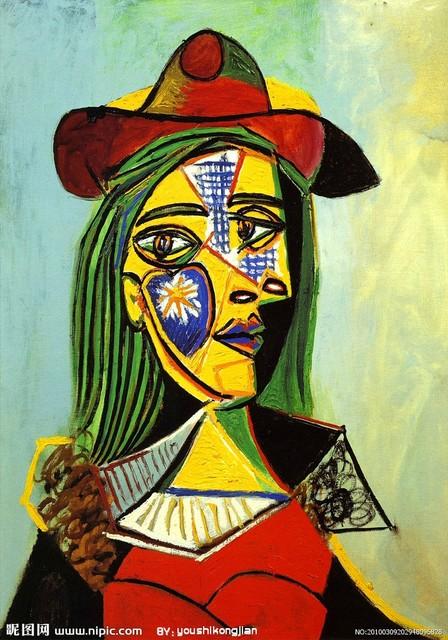 60厘米娃娃_毕加索名画——哭泣的女人、带帽子的女人 - 小卉聍聍的日记 ...