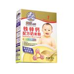 双熊铁锌钙配方奶米粉225克/盒
