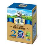 可淇金钻360系列较大婴儿配方2段奶粉400g