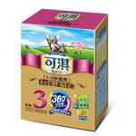可淇金钻360系列幼儿配方奶粉3段400g
