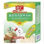 方广3段菌菇鸡肉营养米粉