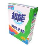 超能天然皂粉盒装450g