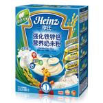 亨氏强化铁锌钙营养奶米粉225g