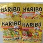 HARIBO小金熊水果软糖+QQ橡皮糖+小熊糖组合