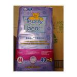 泰迪熊自然干爽纸尿裤M40+4片