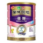 蒙牛阿拉佳智婴儿配方奶粉1段900g
