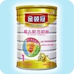 伊利金领冠婴儿配方奶粉1段900g