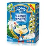 亨氏强化铁锌钙营养奶米粉400g