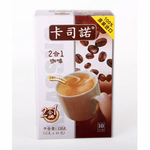 卡司诺2合1无糖咖啡120g