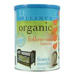 贝拉米有机婴儿配方奶粉2段900g