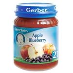 嘉宝苹果蓝莓泥2段