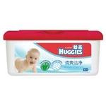 好奇清爽洁净婴儿柔润湿巾80抽盒装*16包