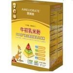 爱美瑞牛初乳米粉DHA奶+淮山蔬菜米粉