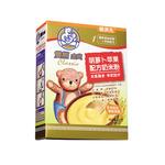 双熊金典胡萝卜苹果配方奶米粉225克/盒