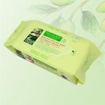 馨宝婴儿婴儿橄榄手口清洁湿巾80片