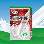友芝友红枣牛奶250ml/盒