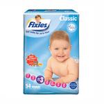 爱婴舒坦Fixies经典系列婴儿纸尿裤M54片