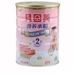 贝因美2段苹果猕猴桃营养米粉437g