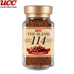 UCC咖啡114速溶咖啡90g/瓶