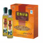 秦岭印象礼盒装亚麻籽油250ml*2瓶/盒