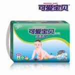 可爱宝贝超薄透气婴儿纸尿片M号36片