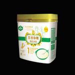 雅因乐1段五谷杂粮有机米粉500g
