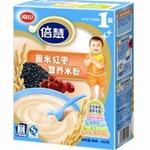 南山倍慧系列1段黑米红枣营养米粉225g
