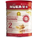 努卡免疫系列较大婴儿营养配方奶粉2段900g