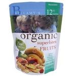 贝拉米有机五种水果混合果干