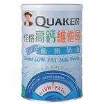 桂格高钙维他命即溶低脂奶粉1650g