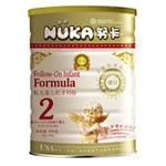 努卡益智系列较大婴儿营养配方奶粉2段900g