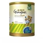 金哥贝1段益生元小米有机米粉390g/罐