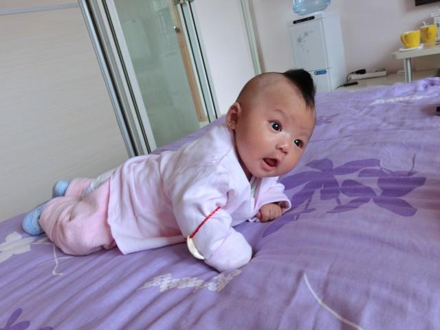宝宝满月发型婴儿满月男孩发型 ...