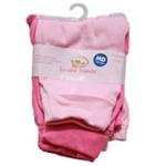 安香态多色裤子两件组-粉色(S)