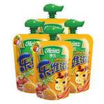 亨氏乐维滋整箱-苹果香橙120g*24袋(1岁以上)