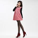 爱家防辐射孕妇服AJ306粉红XL码