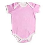 babyglow贝若星体温检测婴儿服粉色内衣6-9个月