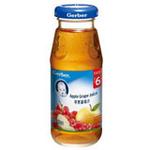 嘉宝苹果葡萄汁175ml(6个月以上)