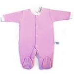babyglow贝若星体温检测婴儿服粉色睡衣6-9个月