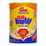 明一真棒baby1段婴儿配方奶粉900g