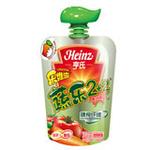 亨氏乐维滋蔬乐2+2胡萝卜番茄果汁泥120g(1岁以上)