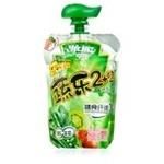 亨氏乐维滋蔬乐2+2果汁泥(豌豆、菠菜)120g