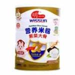 明一紫菜大骨营养米粉500g