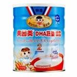 贝因美DHA蔬菜营养米粉375g(2段)