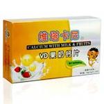 维塔卡尼VD果奶钙片1.5g*24片