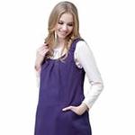 珂莉蒂花园悠闲午茶防辐射背心裙811W-6004紫色201XL