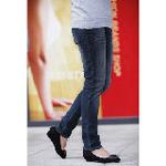 LOVESMAMA新款孕妇装秋冬款韩版时尚托腹孕妇小脚牛仔裤96166蓝色XL