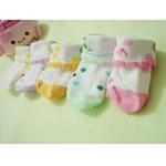 纯棉幼儿袜子(3条装)