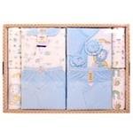 GUGA咕嘎纯棉四季款宝宝婴儿礼盒169蓝色0-12个月