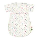 睡王动物乐园纱布有袖婴幼儿宝宝睡袋粉色半袖款45*70CM